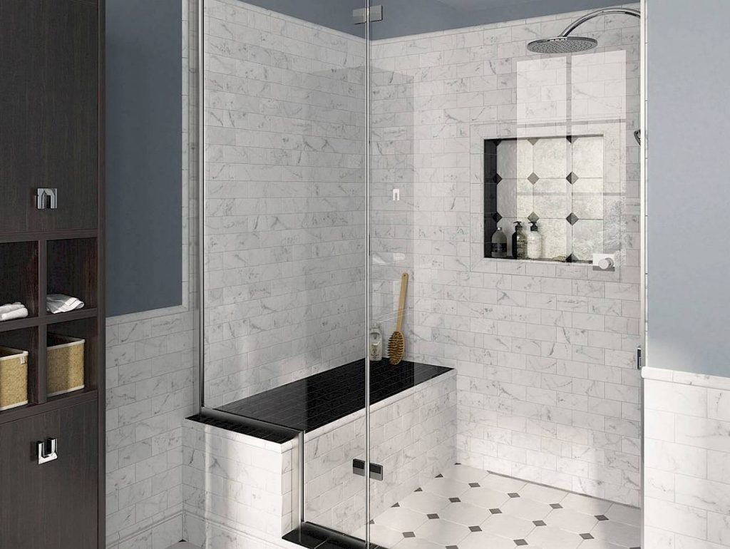 Carrara Porcelain And Ceramic Tiles Marble Replica Centura