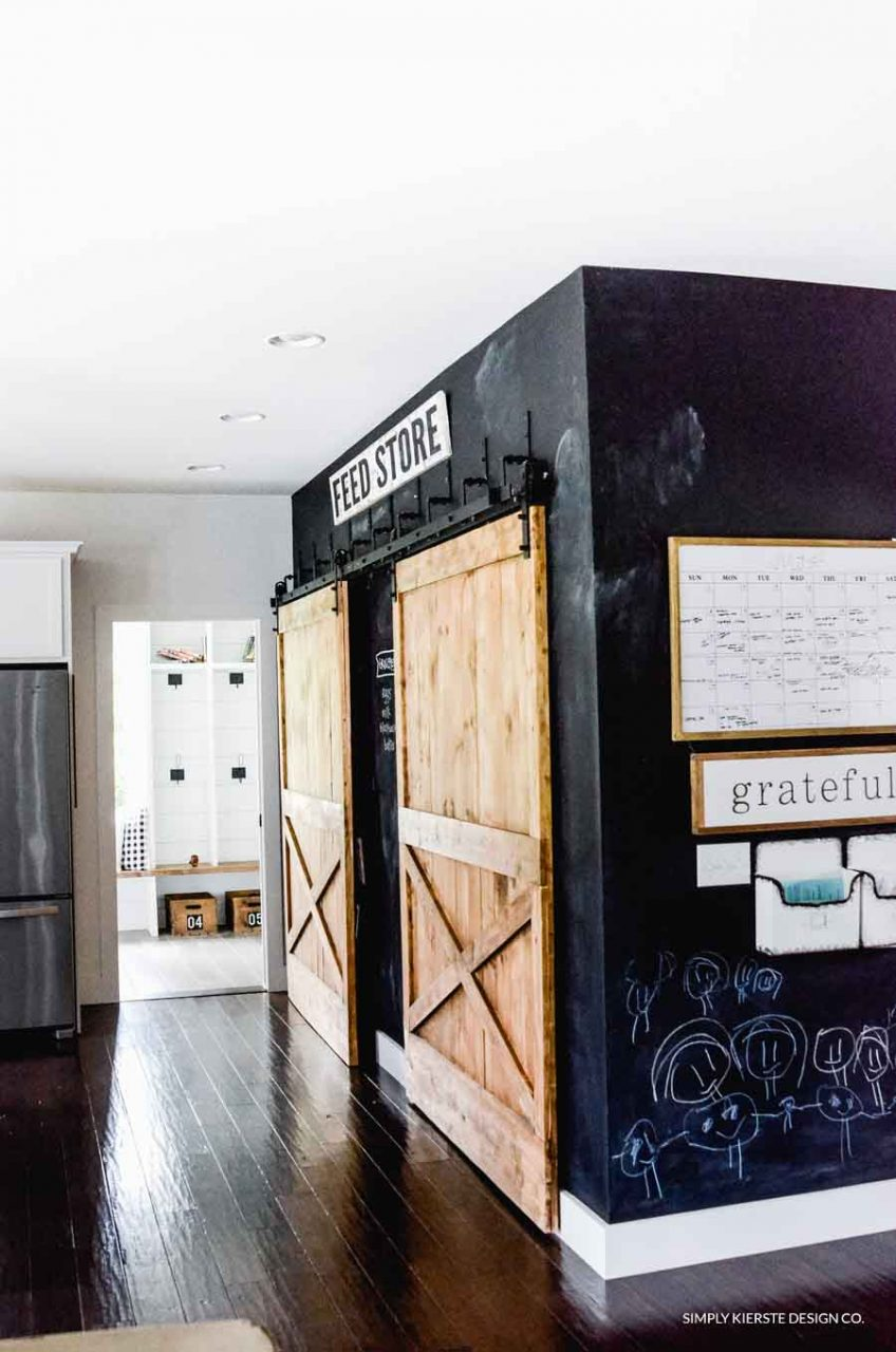 Chalkboard Kitchen Wall Messageinthesky