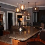 Wall Colors with Dark Cherry Kitchen Cabinets