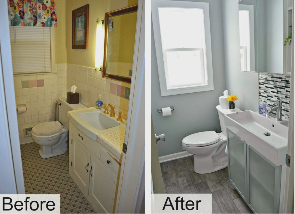 Chic Cheap Bathroom Renovations Fantastic Small Bathroom Remodel In