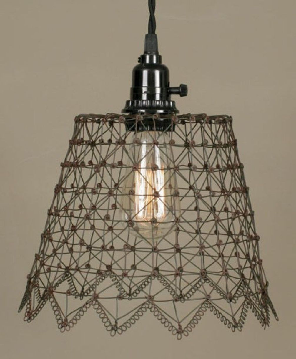 Chicken Wire Chandeliers Ical