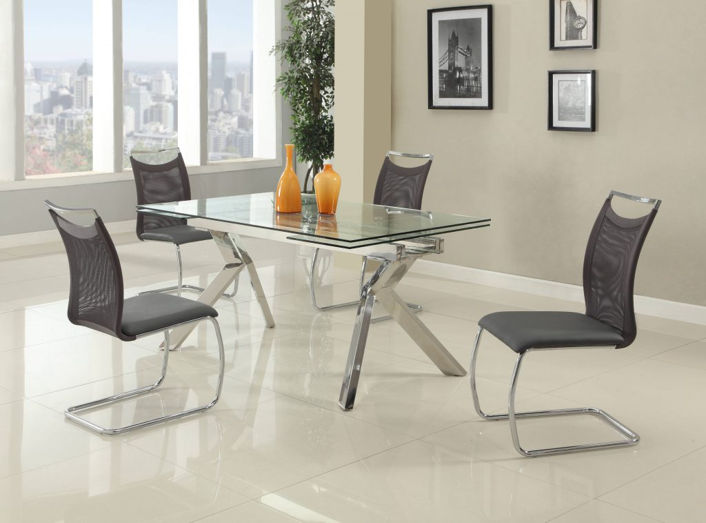 Chintaly Imports Ella Nadine 5pc Dining Room Set The Classy Home