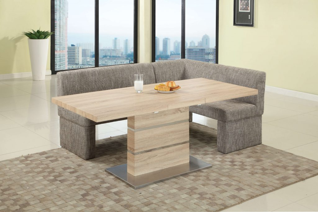 Chintaly Imports Labrenda Light Oak 2 Piece Dining Set With Neutral