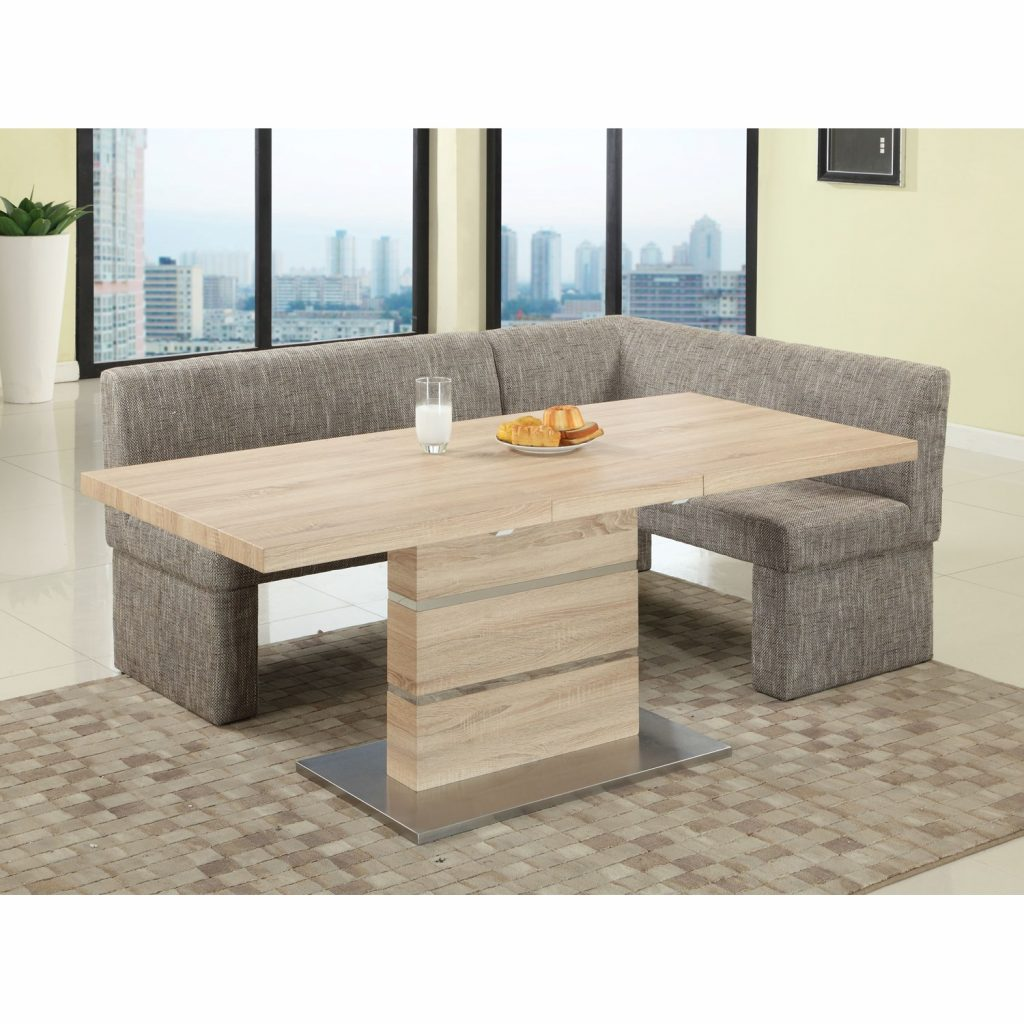 Chintaly Imports Labrenda Self Storing Extension Dining Table Set