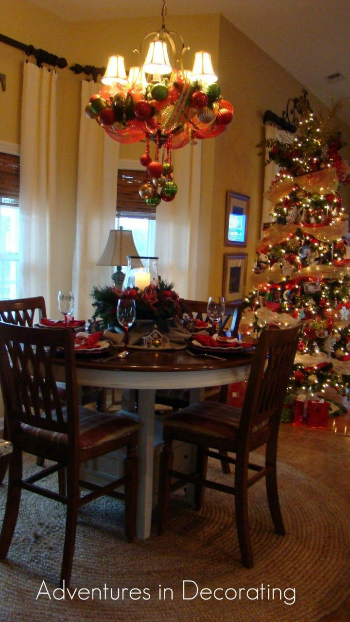 Christmas Breakfast Nook Happy Holidays Pinterest Christmas