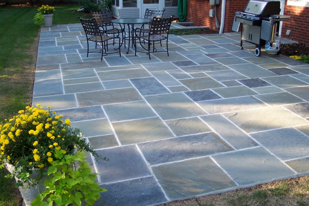 Classic Design Flagstone Patio Ideas Outdoor Designs Just My