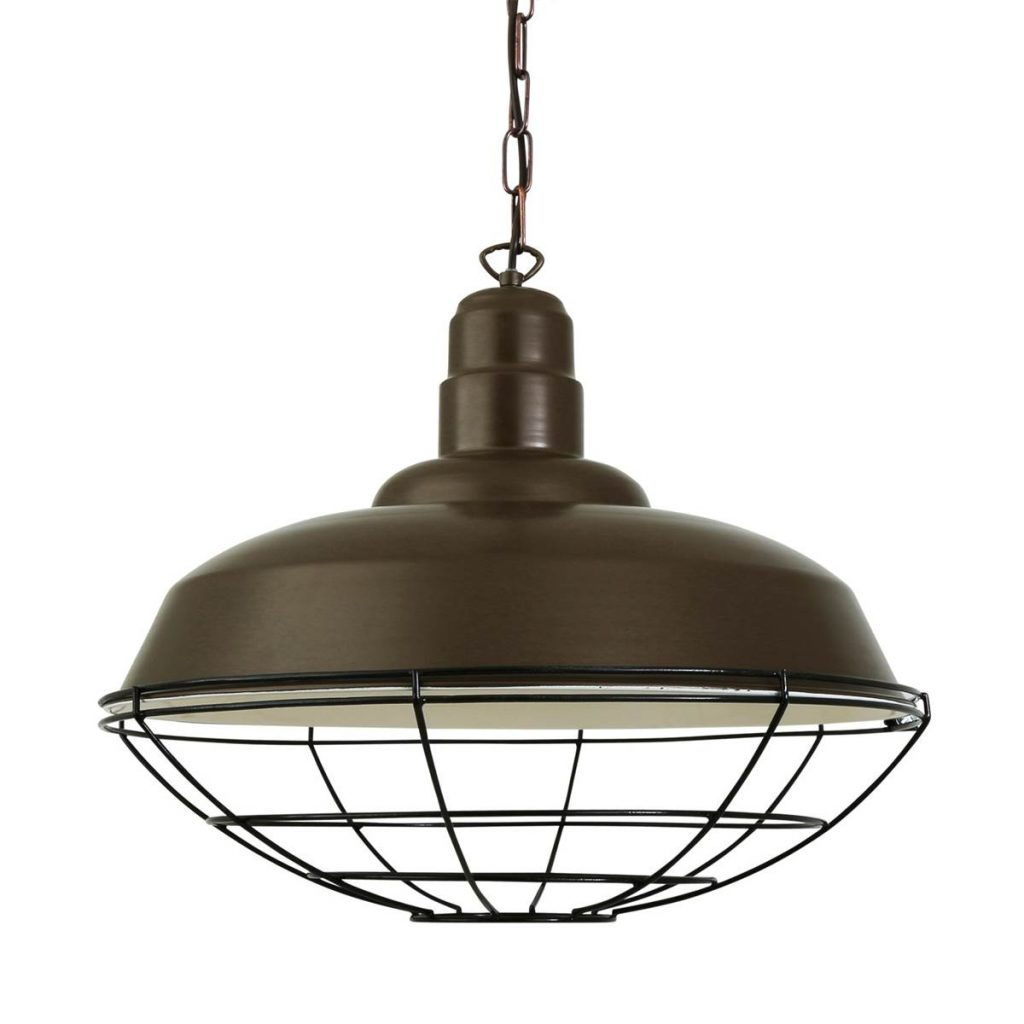 Cobal Cage Lamp Industrial Factory Light Mullan Lighting