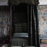 Black Gothic Canopy Bed