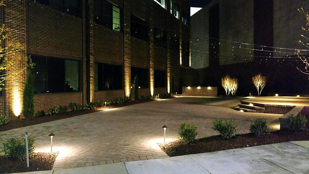 Commercial Landscape Lighting Design Tips For Safety Security And
