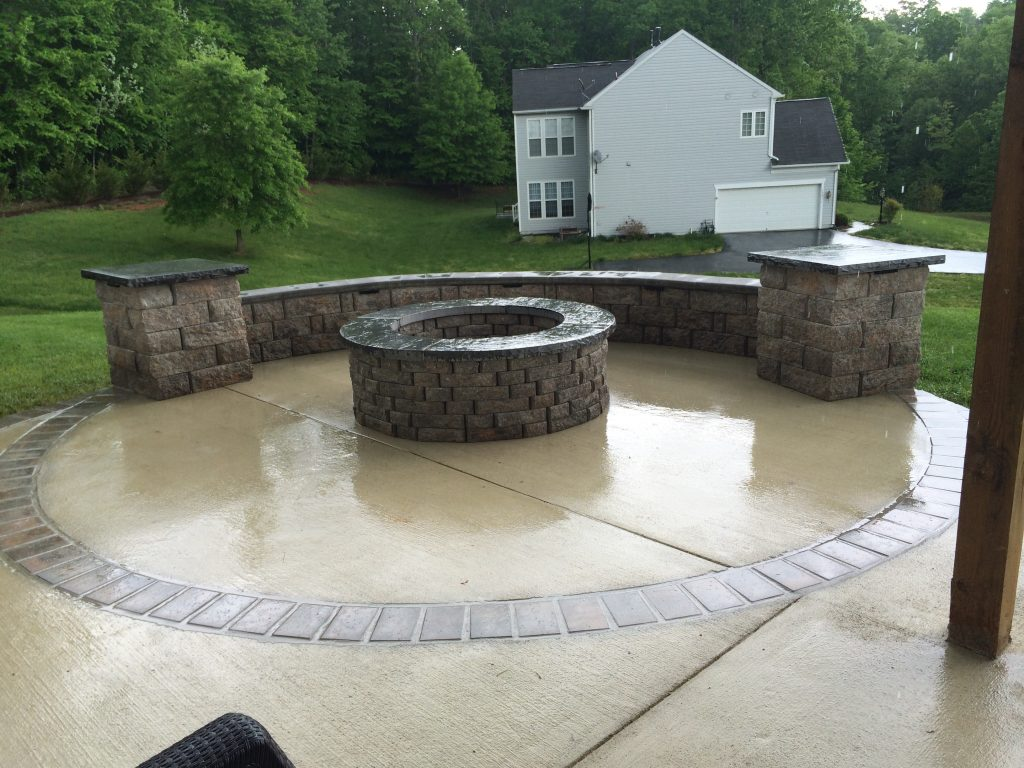 Concrete Patios And Walkways American Exteriors Masonry