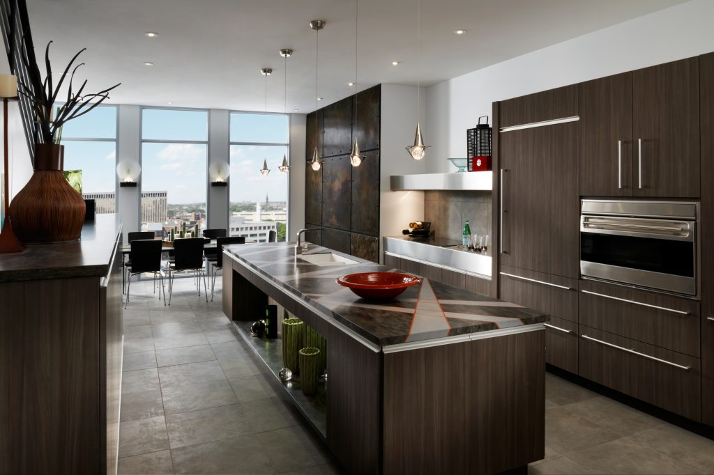 Contemporary Kitchen Cabinetry St Louis Homes Lifestyles