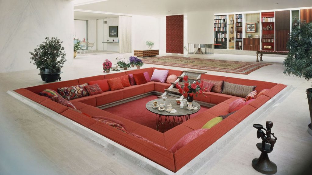 Conversation Pits Make A Comeback Curbed