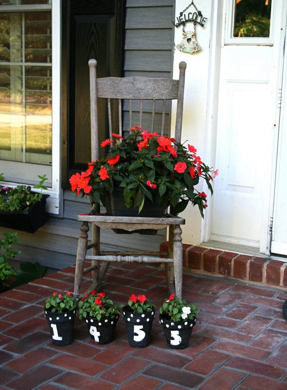 Cool Brick Front Porch Steps Feature Red Brick Steps And Brown