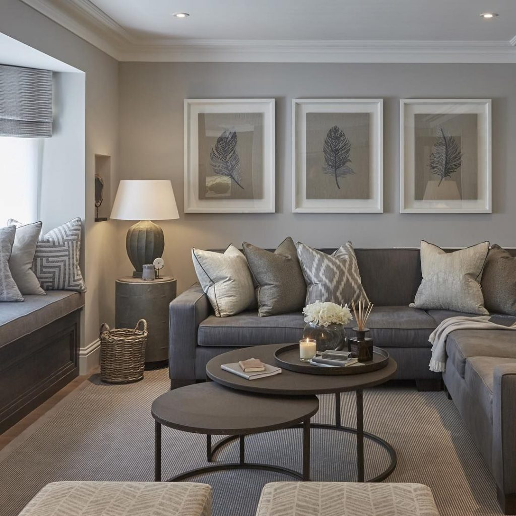 Cool Ideas Grey Paint Colors For Living Room Creative Home Decor