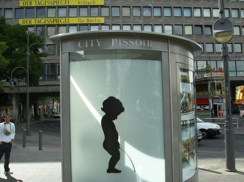 Coolest Public Toilet Ever Its One Way Mirrors Glass So People Can