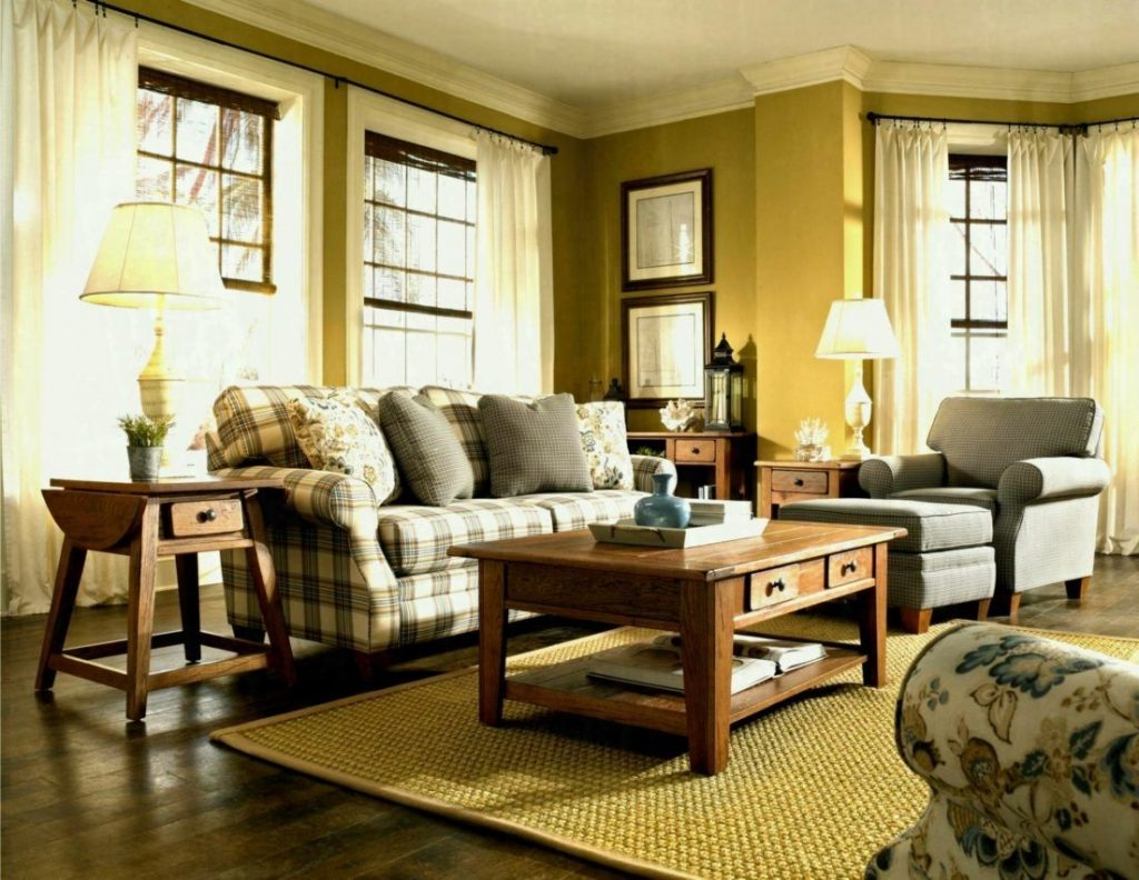 Country Living Room Furniture Interior Design Ideas