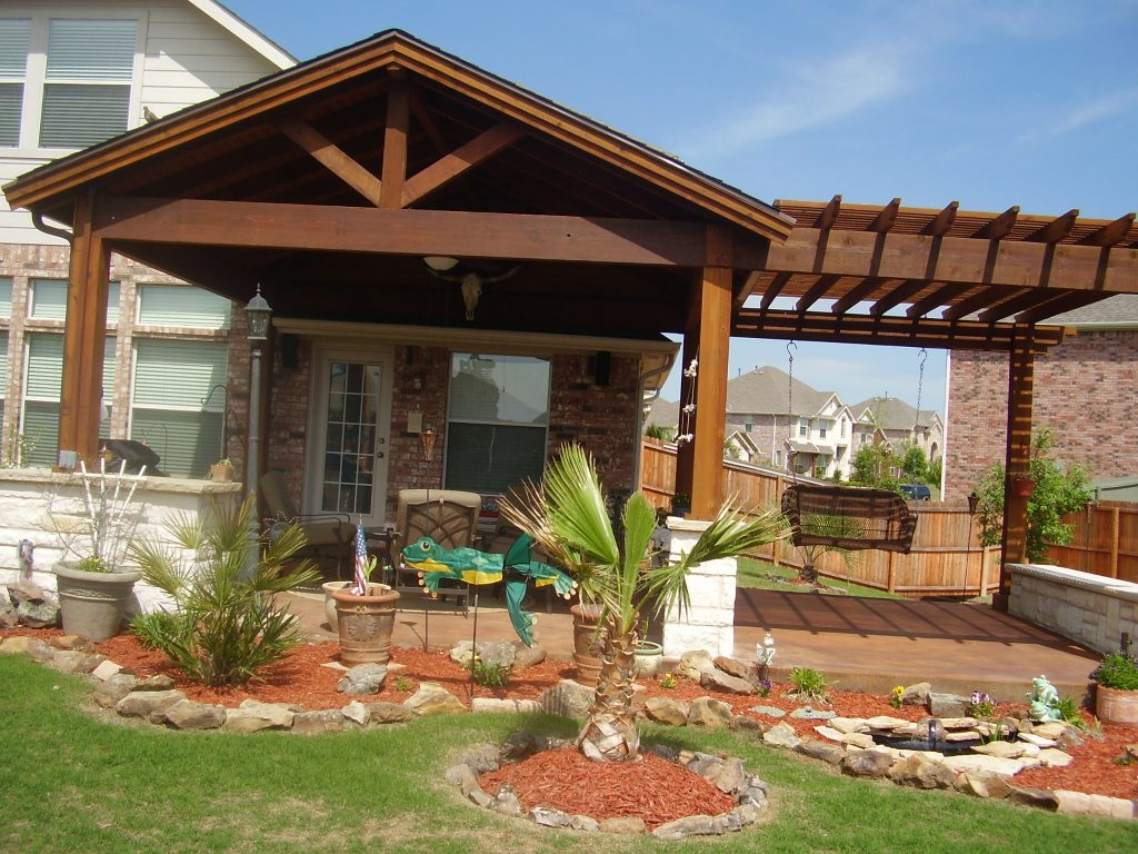 Covered Patio Roof Designs The Latest Home Decor Ideas