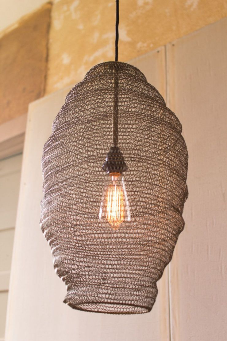 Creative Home Design Lovely Chicken Wire Light High Resolution With