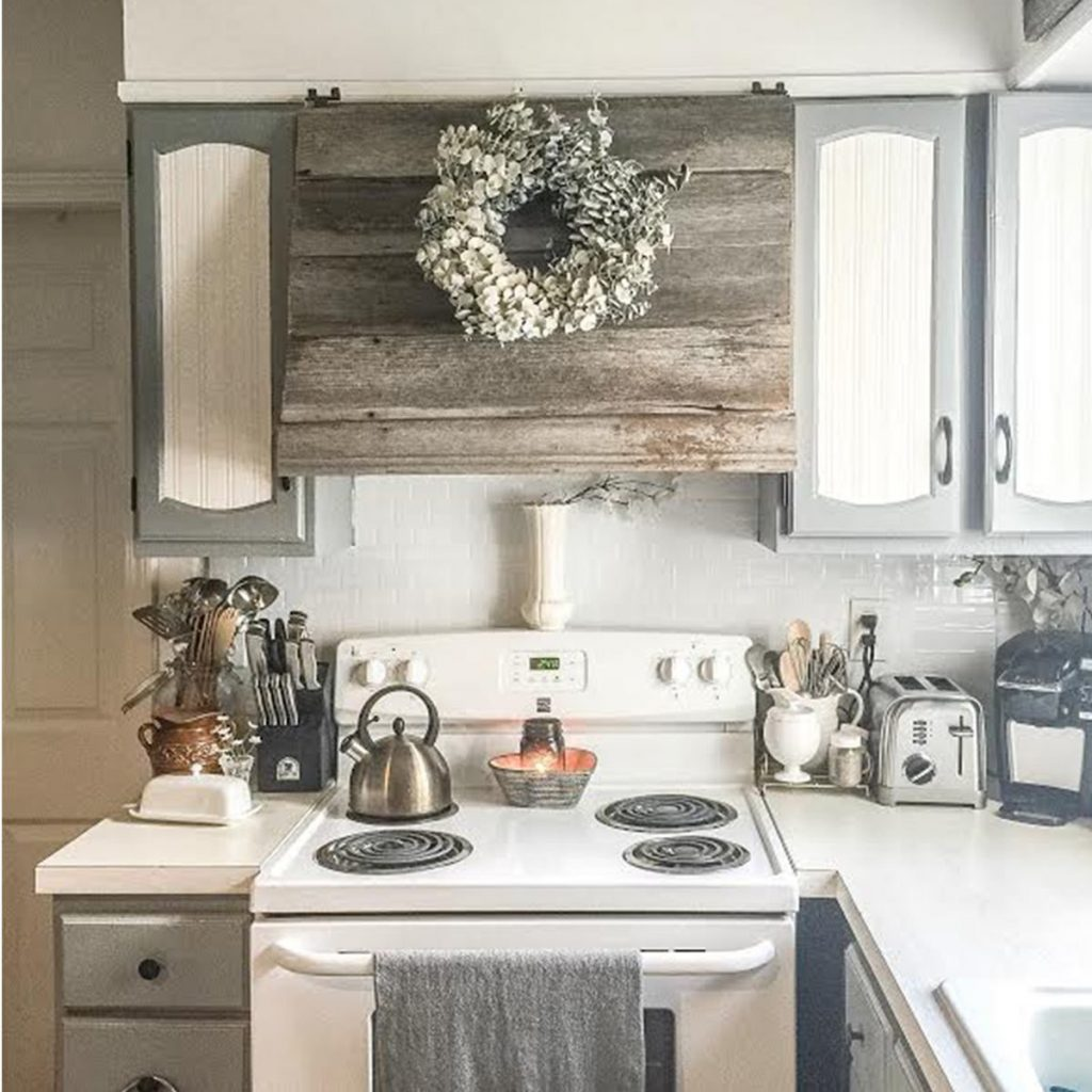 Creative Ways To Disguise A Range Hood Vent The Family Handyman