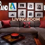 Daily Decor Rustic Red And Brown Living Room Youtube