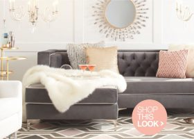 Glam Living Room Furniture