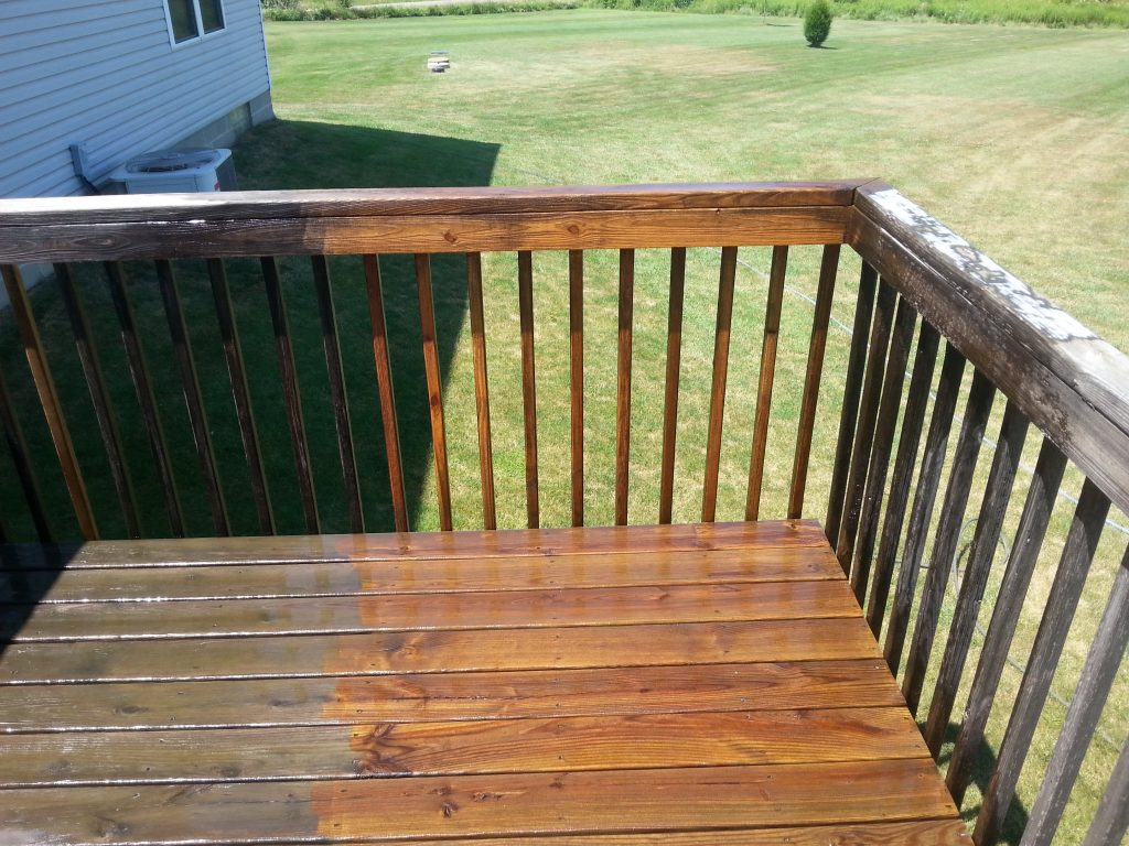 Deck Washing Deck Rescue