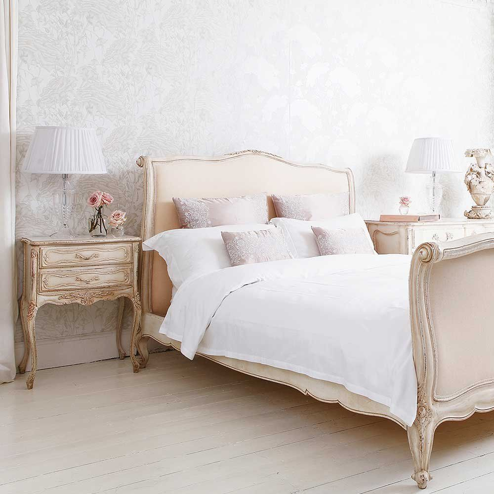 Delphine French Upholstered Bed The French Bedroom Company For