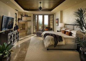 Master Bedroom Luxury Home Interiors