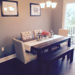 Black Dining Rooms Tables Centerpiece