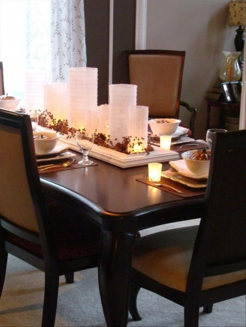 Dining Room Black Dining Set With Candle Also Ceramic Bowl And Grey