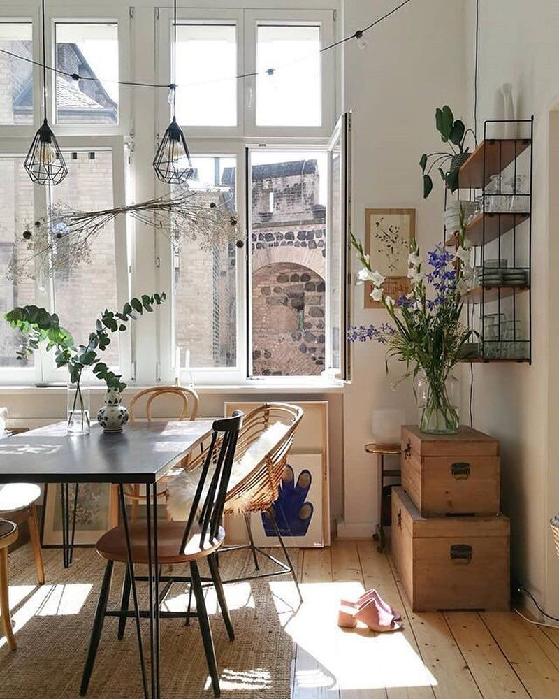 Dining Room Home Decor Bohemian Style Vintage Inspired