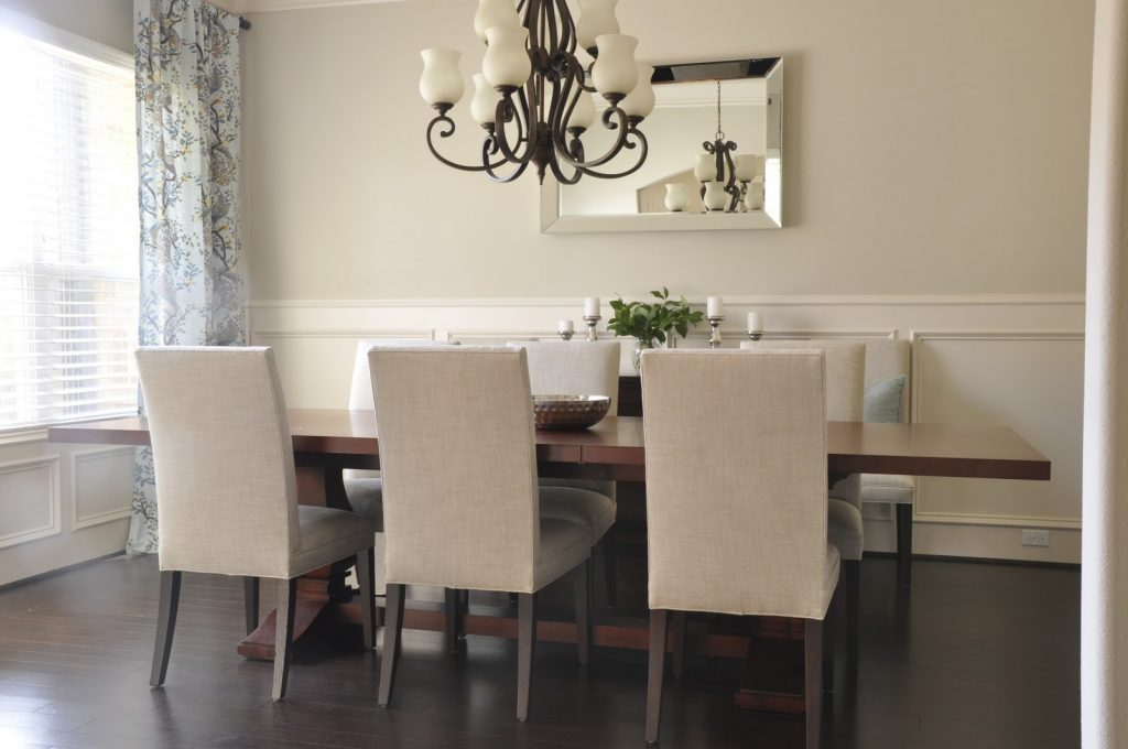 Dining Room Mirrors Wall Zachary Horne Homes Excellent For