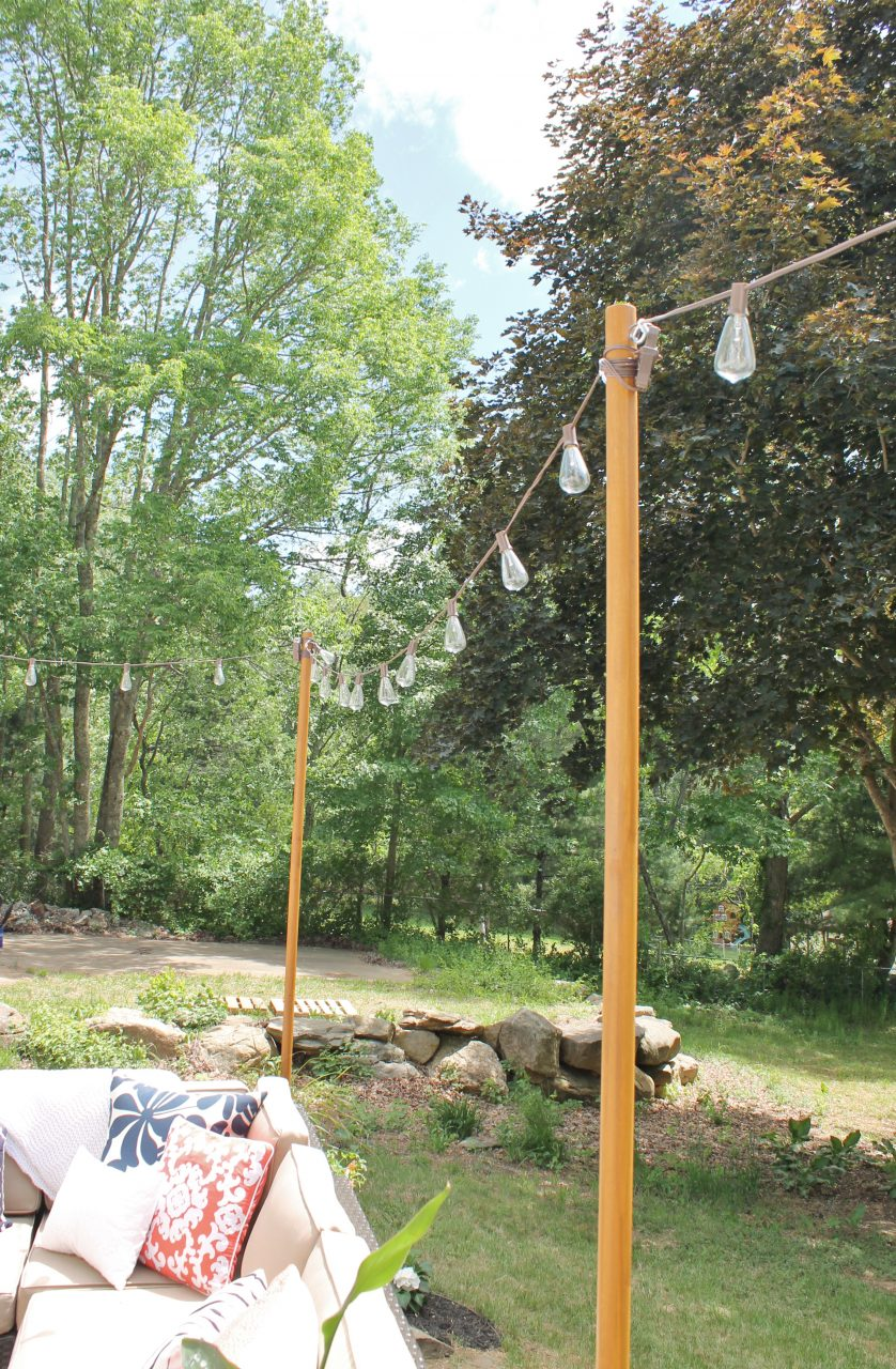 Diy Outdoor Light Poles City Farmhouse