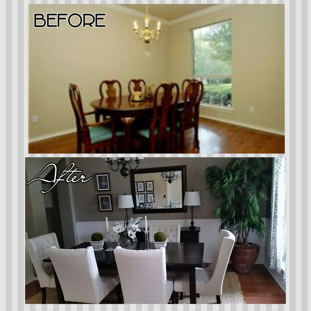 Diyife Dining Room Makeover On A Budget Living Room Ideas
