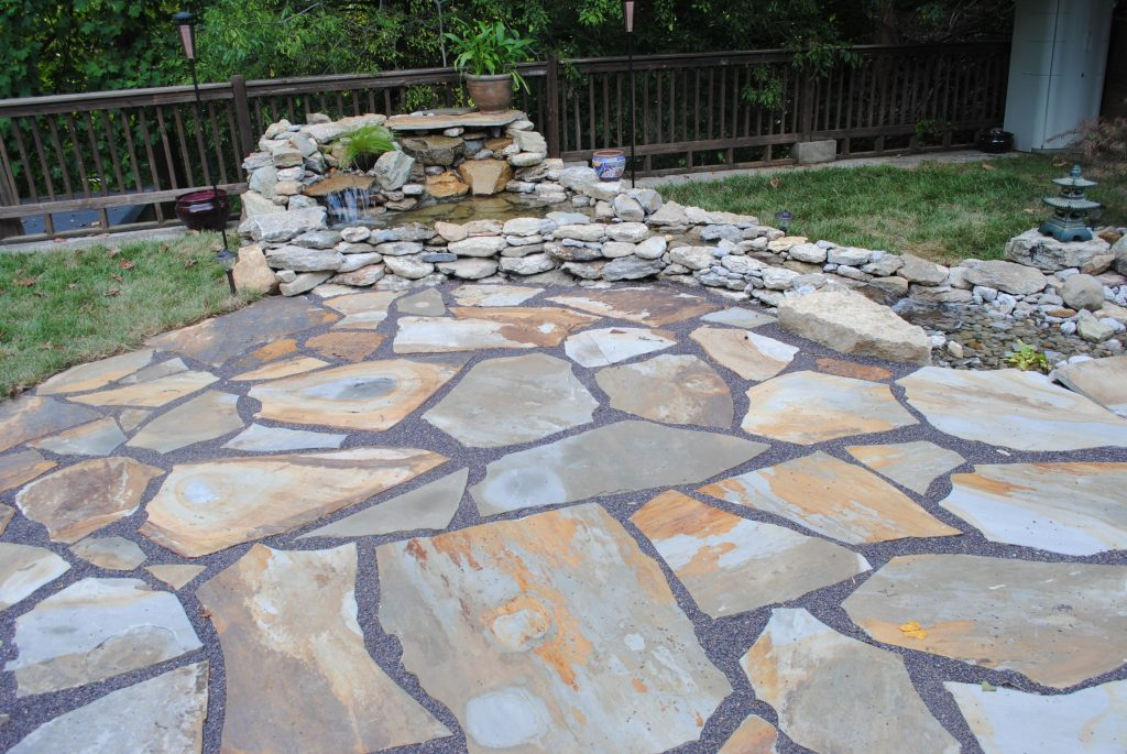 Dos And Donts On Building A Flagstone Patio Cost Ifso2016