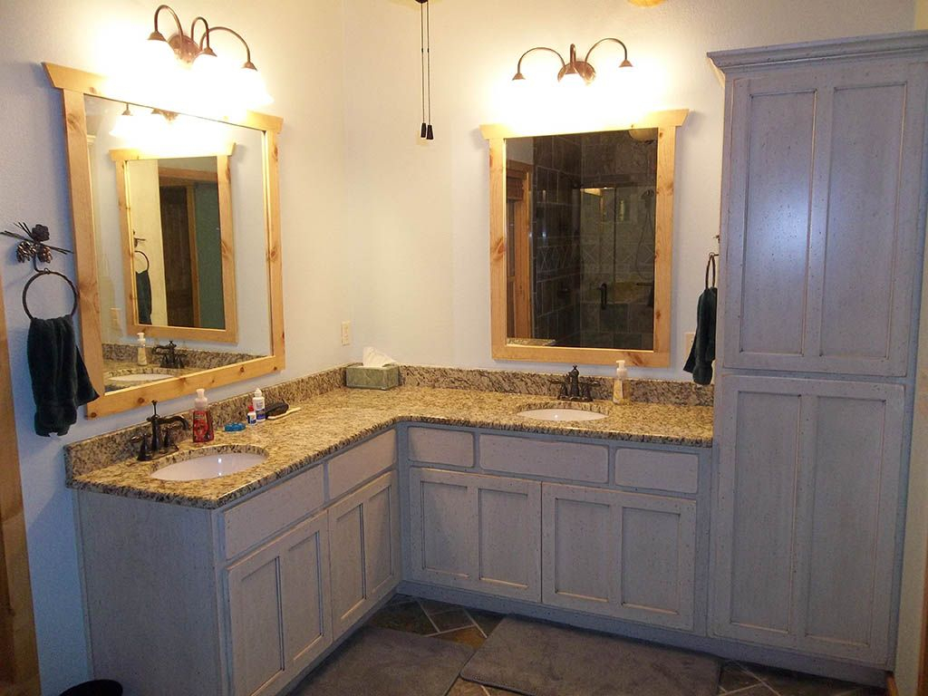 Double Sink Corner Vanity Google Search Bathroom Pinterest