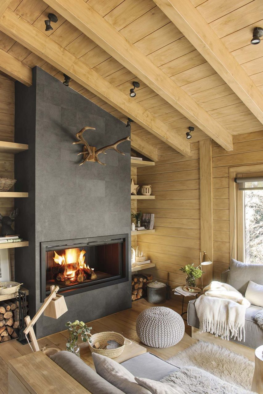 Dreamy Rustic Cabin In The Middle Of A Spanish Forest Fireplaces
