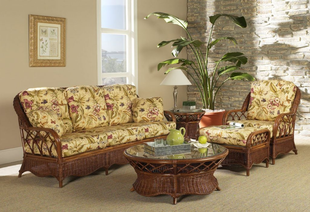 Eastwind Rattan Lounge Chair From Classic Rattan Model 9301 Rattan
