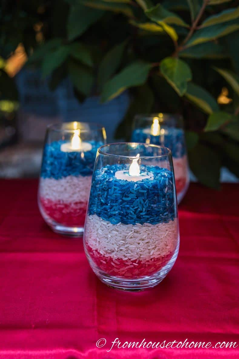 Easy 4th Of July Outdoor Decorations Entertaining Diva From