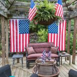 Easy Fourth Of July Outdoor Decor Ideas 4th Of July 4th Of July