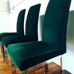 Emerald Green Chair Parson Dining Room Chairs Chann