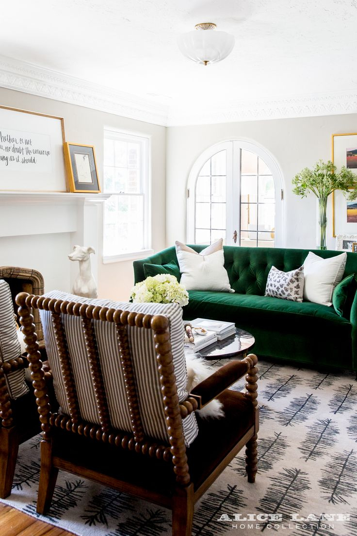 Emerald Green Sofa Unmiset Great Velvet Dining Room Inspiration With