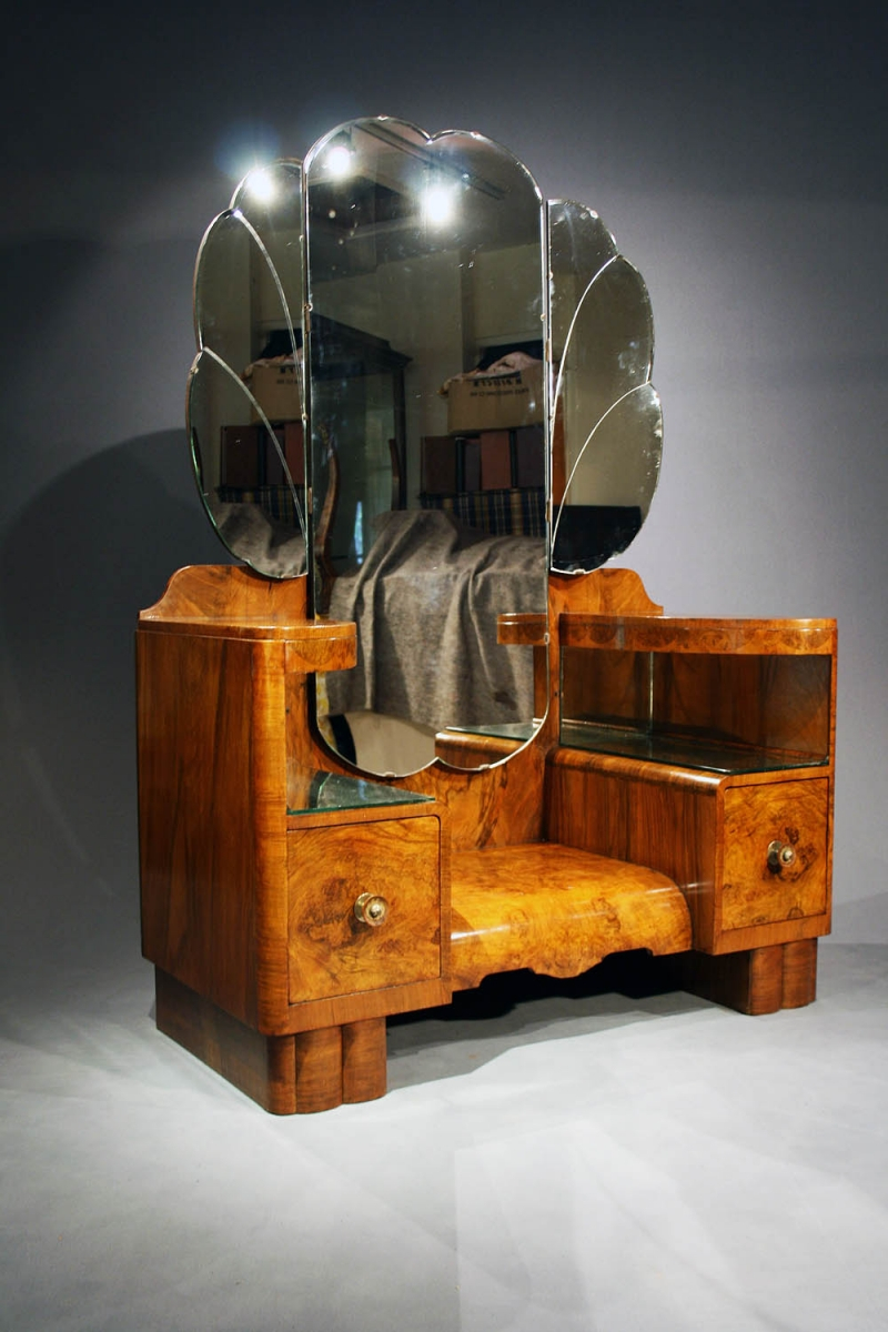 Excellent Quality Art Deco Dressing Table Loveday Antiques