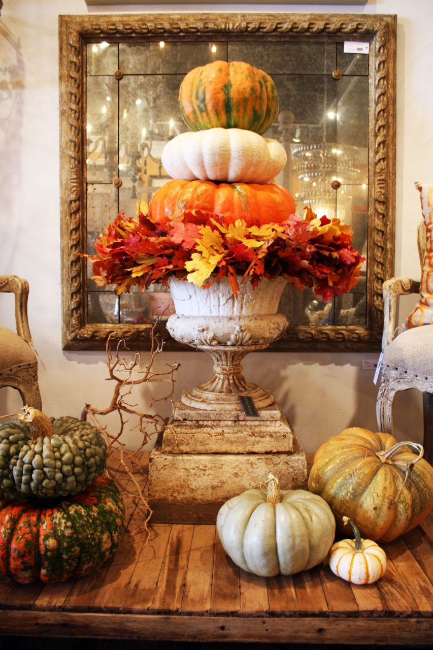 Fall Decorating With Pumpkins And Gourds Topiaries Fall Decor