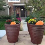Fall Planters Life On Virginia Street
