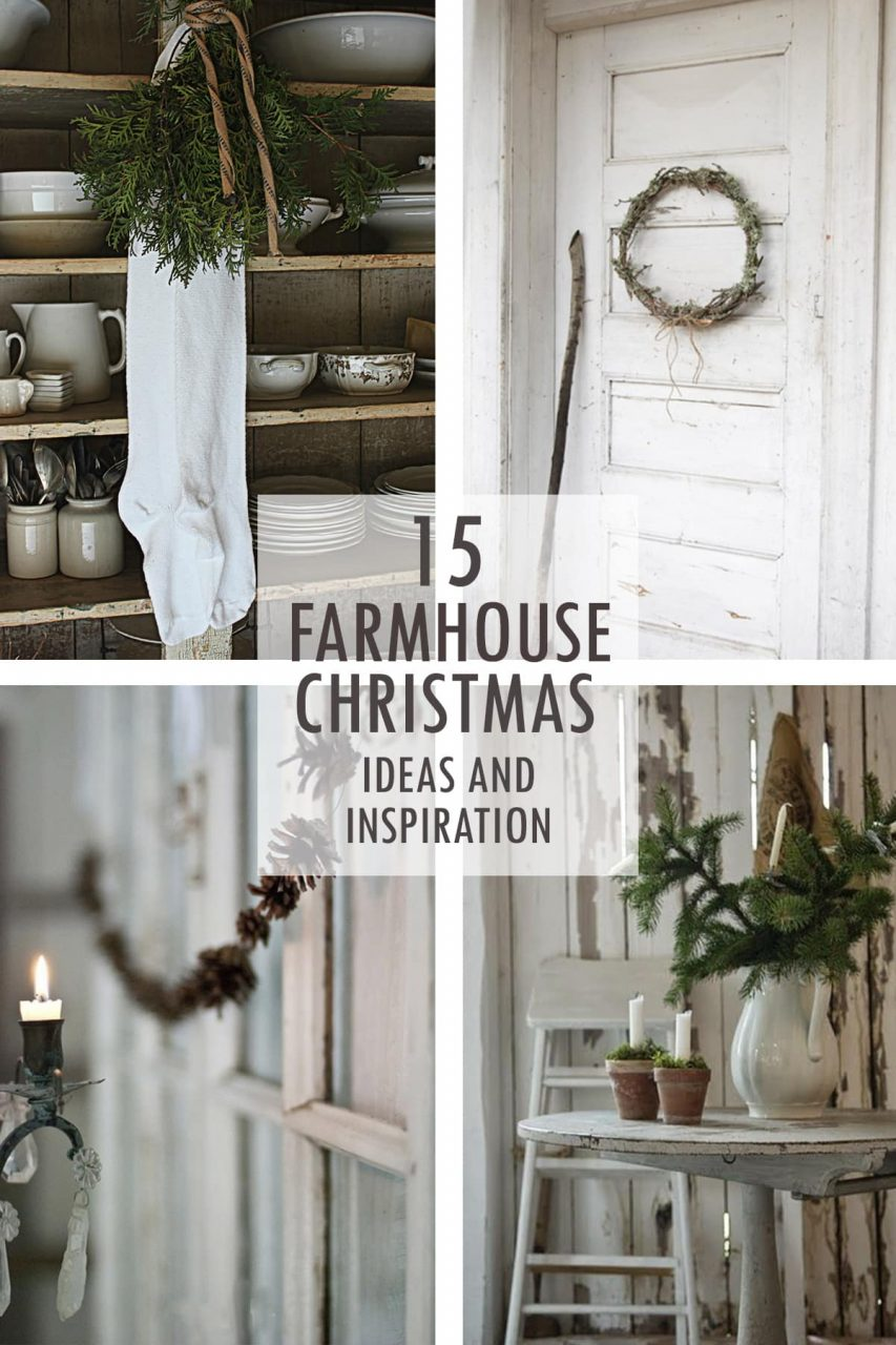 Farmhouse Christmas Tidbits