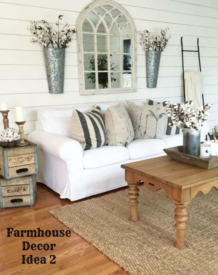 Farmhouse Decor Clean Crisp Organized Farmhouse Style Decor