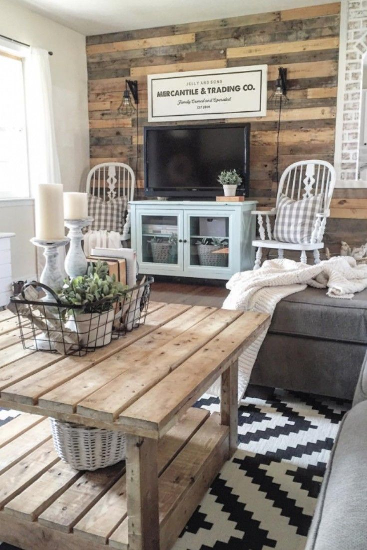 Farmhouse Living Room Decor Rustic Homedecor Farmhousedecor