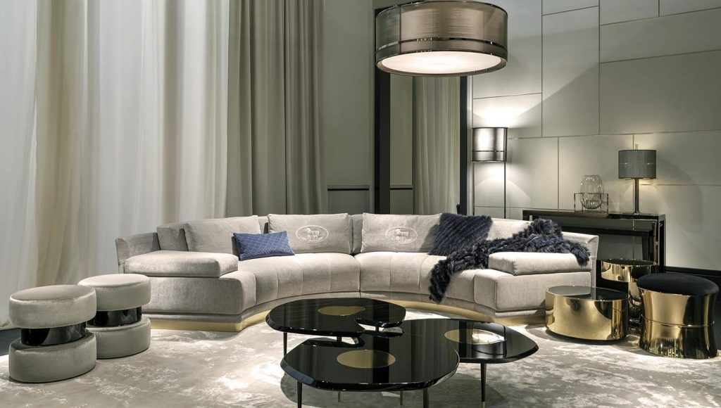 Fendi Casa Interior Collections Luxury Living Group Furniture