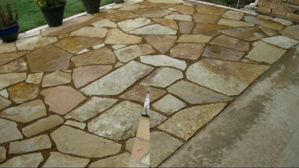 Flagstone Patio Ideas Youtube